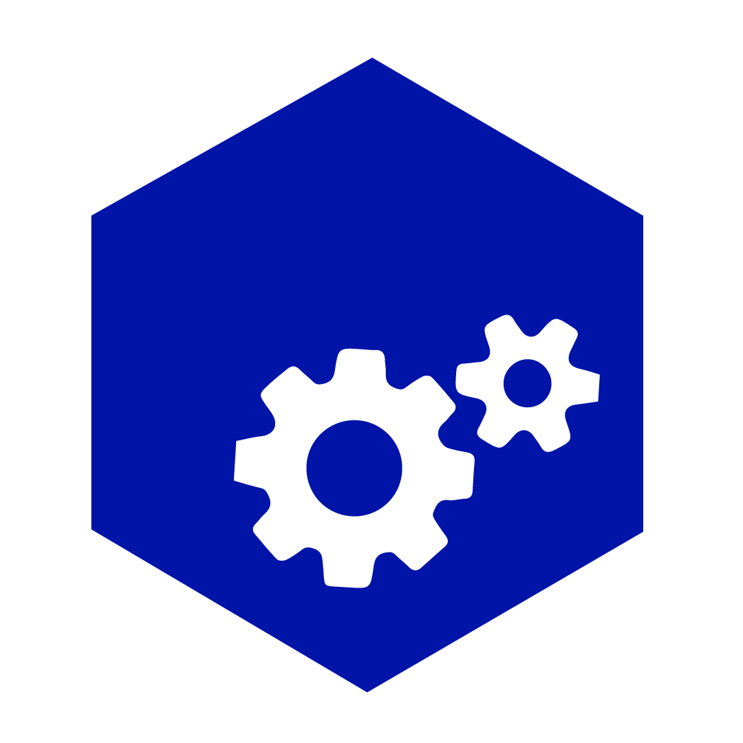 nuts and bolts icon button