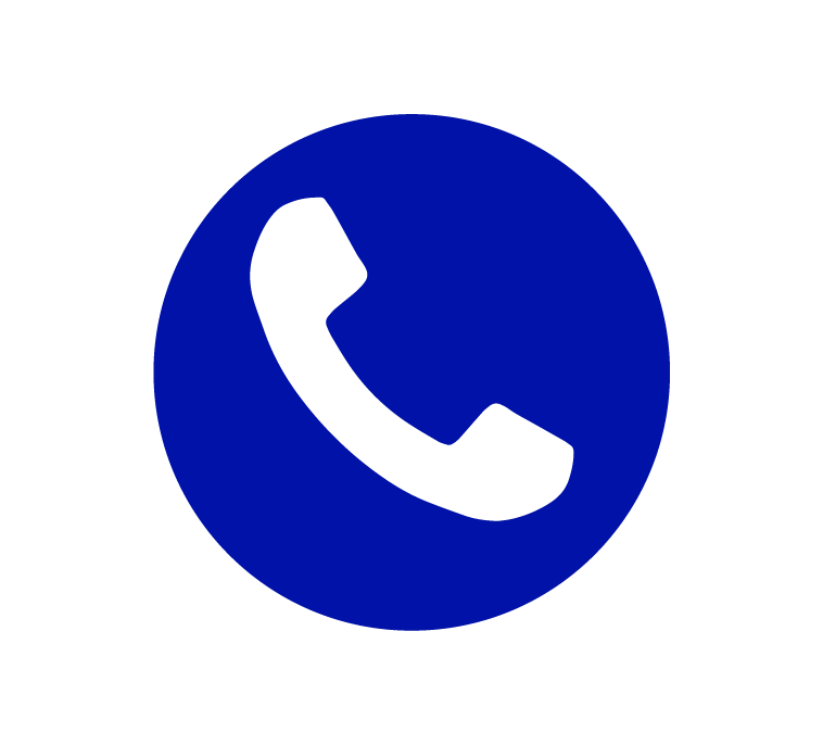 blue icon for a call button